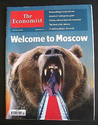 The Economist Magazine. July 4th - 10th, 2009. Volume 392. Number 8638.