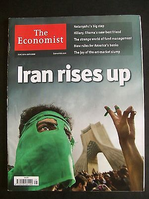 The Economist Magazine. June 20th - 26th, 2009. Volume 391. Number 8636.