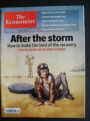 The Economist Magazine. October 3rd - 9th. Volume 393. Number 8651.