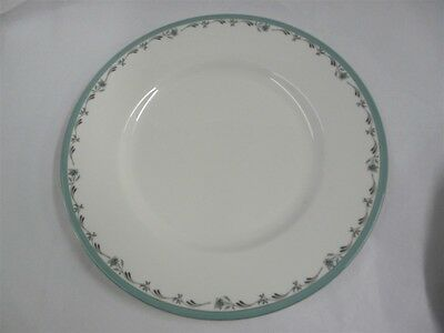 """ROYAL WORCESTER CHINA SEA ROSE PATTERN DINNER PLATE 10-1/2"""""""