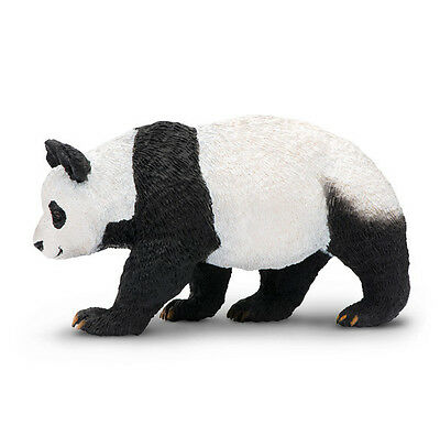 Safari Ltd. 228729 Panda Bear Toy Hand Painted Asian Animal Figurine - NIP