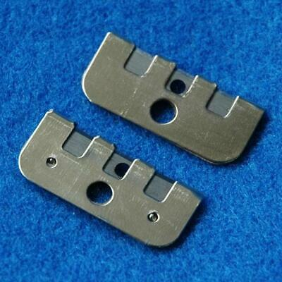 2 Industrial Sewing Machine Thread Cutters Cutter Blade Metal Singer Brother