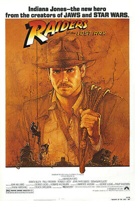 "Indiana Jones - Raiders Of The Lost Ark - Movie Poster (Regular) (27"" X 40"")"