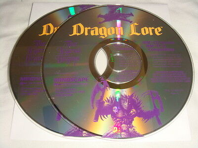 Dragon Lore - PC CD Computer game Discs Only The Legend Begins IBM 1994