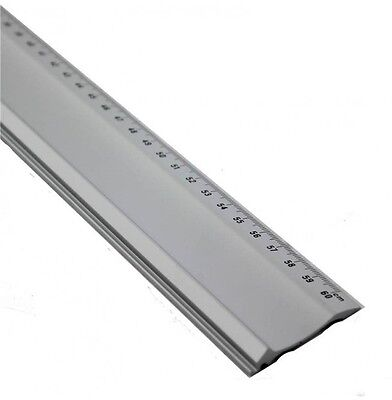 "600mm 60cm 24"" Steel Frame Mount Cutter Cutting Ruler Straight Edge Jakar/dafa"