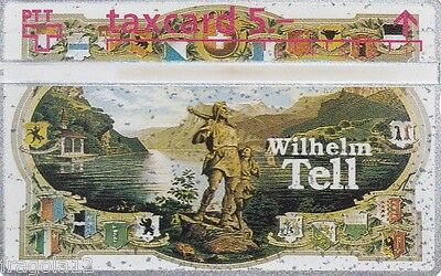 Switzerland - Phone Card Taxcard Ptt - Guglielmo Tell (3) - Fr. 5