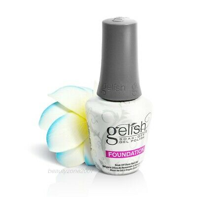 Nail Harmony Gelish UV Soak Off Gel Foundation Gel Base Gel 0.5floz, 15ml