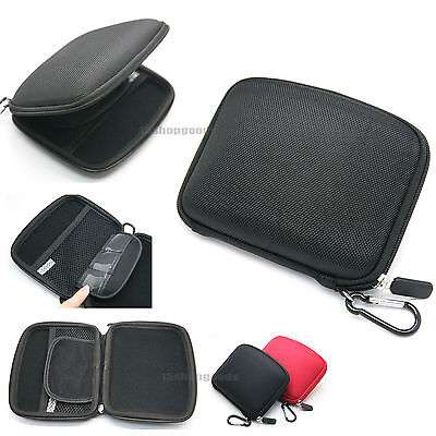 "5"" In-car Sat Nav EVA Hard Carry Case Cover GPS Holder Bag For TomTom Black"
