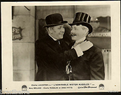 """1 PHOTO DE CINEMA : """"L'ADMIRABLE MISTER RUGGLES"""" (Ruggles of red gap) 1935"""