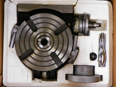 """New 6"""" Precision Rotary Table     W465"""
