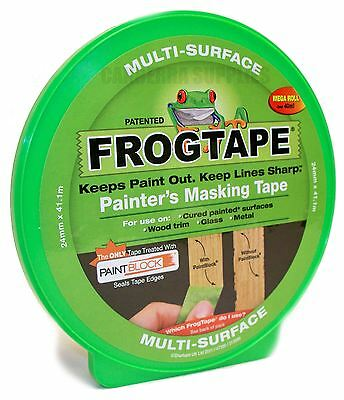 FROG TAPE PAINTERS MASKING TAPE MULTI SURFACE - GREEN 24MM x 41.1M