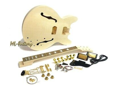 E-Gitarren Bausatz  /Guitar DIY Kit ML-Factory® MES Flamed Maple Top
