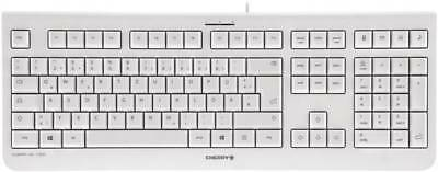USB-Tastatur CHERRY KC 1000 Grau  Deutsch, QWERTZ, Windows®