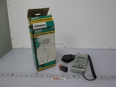 Extech 401025 Light Meter 0 to 5,000 Foot Candle / 0 to 50k Lux *Missing Cover*