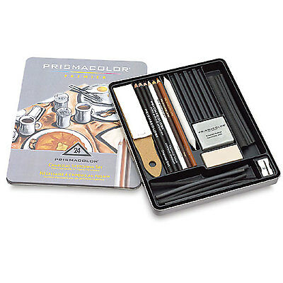 Prismacolor Charcoal Sketching Pencil Gift Set of 24