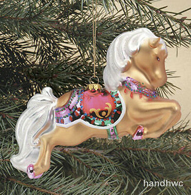 Breyer 700667 Ginger Glass Blown Christmas Holiday Horse Ornament - Box Damage