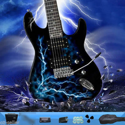 Electric Guitar with Amp Guitar Strap Tuner Bag Brand New