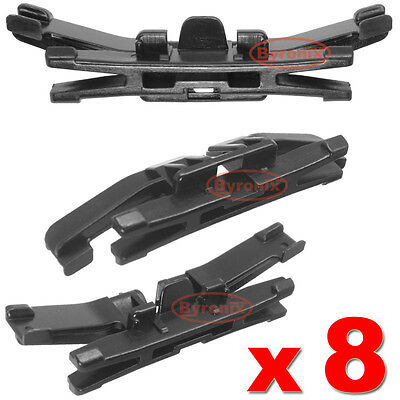 Subaru Forester Front Windscreen Clips Side Trim Moulding A Pillar Exterior X8