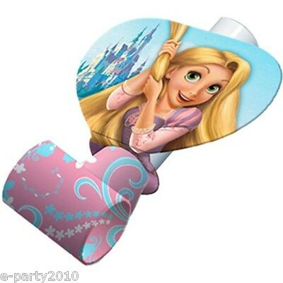 (8) TANGLED BLOWOUTS ~ Disney Princess Birthday Party Supplies Favors Rapunzel