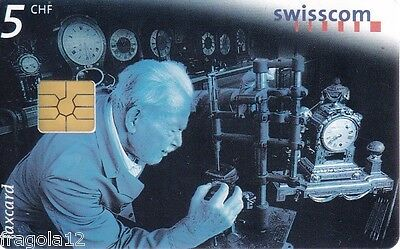 Switzerland - Phone Card Taxcard Ptt - Revisione - Fr. 5