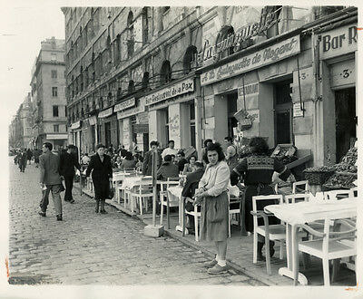 Photo de Prese Argentique Marseille 1948