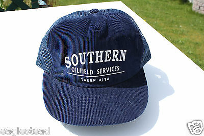 Ball Cap Hat - Southern Oilfield Services - Taber Alberta Oil Field Gas (H1009)