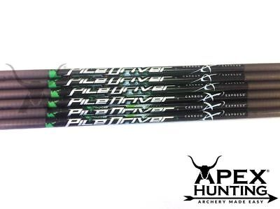 12X Carbon Express Piledriver Pass Thru Extreme Arrow Shafts For Archery