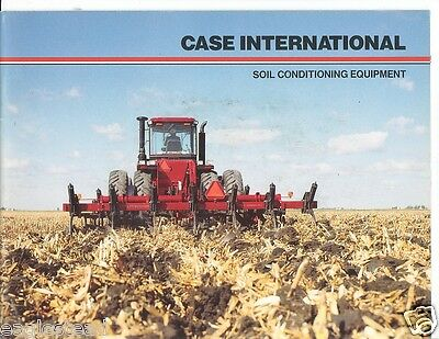 Farm Implement Brochure - Case IH - Soil Conditioning Plows (F2098)
