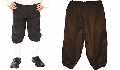 Child Colonial Renaissance Pirate Knickers Pants Victorian Kids Costume Knickers