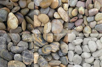 Aquarium Pebbles / Stones / Gravel Decorative Fish Tank Ornament 3-5cm / 5-60kg