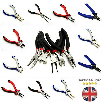 Jewellery Making Pliers DIY Craft Tools UK Seller - Bent Chain Round Nose etc ML