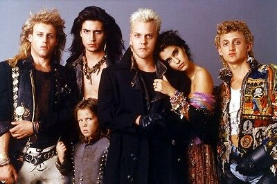 The Lost Boys 24X36 Color Movie Poster Print Kiefer Sutherland cast