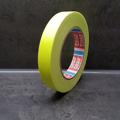 Tesa 4671  Highline Warnband Klebeband Tape neon gelb 25m/19mm