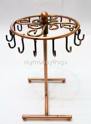 "8""H Metal Necklace Bracelet Table Top Jewelry Organizer Holder Stand Display NEW"
