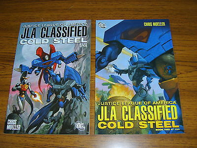 Jla Classified: Cold Steel #1-2 Set (Dc) Prestige Format