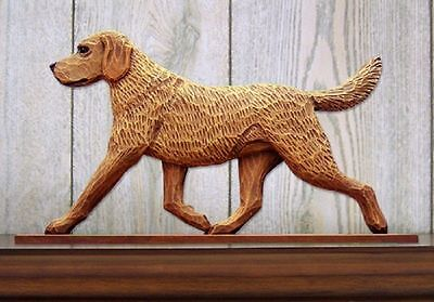 Chesapeake Bay Retriever Dog Figurine Sign Plaque Display Wall Decoration