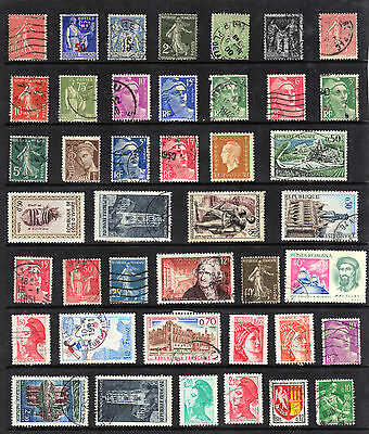FRANCE Old STAMP Collection Majority Used REF:D174