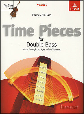 Time Pieces for Double Bass Volume 1 ABRSM Exam Classical Sheet Music Book