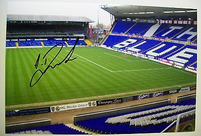 A 12 x 8 inch photo personally signed by Albert Rusnak of Birmingham City.