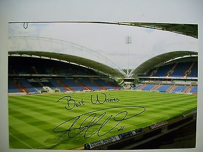 A 12 x 8 inch photo personally signed by Nahki Wells of Huddersfield Town.