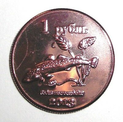 CRIMEA KRIM 1 Ruble 2014 Mouse unusual coinage