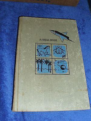 1956 The Real Book of Electronics Rockwell, NC School Book  ATOMIC AGE SCIENCE