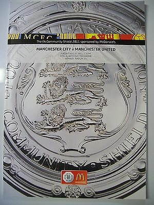 Programme. Littlewoods F.A. Charity Shield, 1997. Chelsea v Manchester United.