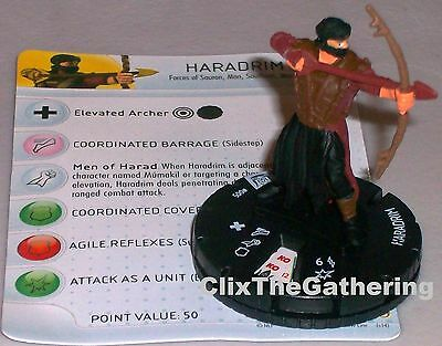 HARADRIM #005 Lord of the Rings: The Return of the King LotR HeroClix
