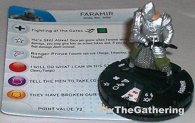 FARAMIR #009 Lord of the Rings: The Return of the King LotR HeroClix Rare