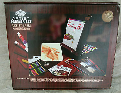 Royal & Langnickel Premier 102 Piece Media Easel Set REA6300