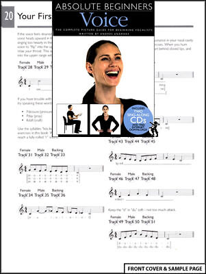 Absolute Beginners Voice Vocal Tuition Learn Sing +2CDs