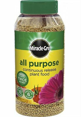 MIRACLE-GRO ALL PURPOSE CONTINUOUS RELEASE PLANT FOOD GRANULES 1kg - SHAKER TUB
