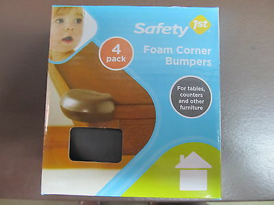 Safety 1st Foam Corner Bumpers package of 4   #HS164   NEW