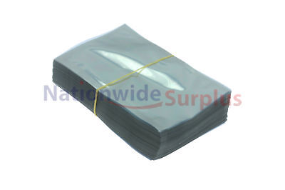 """200 Anti-Static Shielded Bags 4"""" x 6"""" for 2.5"""" Hard Drives Cellphone iPhone"""
